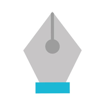 Pen tip draw icon vector illustration design graphic