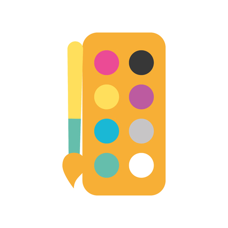 combine color palette icon vector illustration design graphic