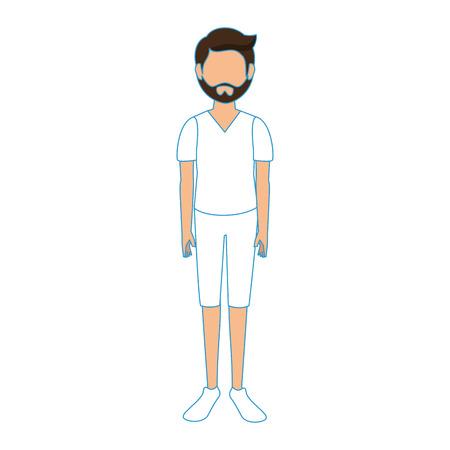 少年顔アバター アイコン ベクトル イラスト グラフィック デザイン