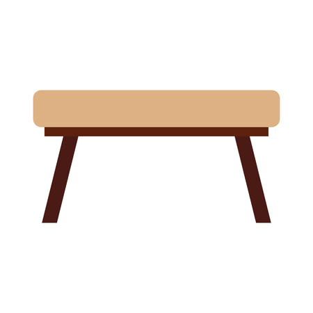 L'école table isolé icône vector illustration design Banque d'images - 81599334
