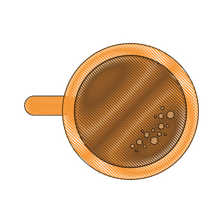 Delicious cup of coffee icon vector illustration graphic design