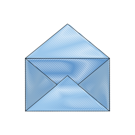 Email or mail symbol icon vector illustration graphic design Stock Photo