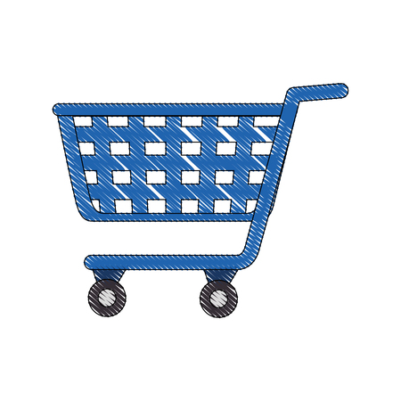 Shopping cart symbol icon