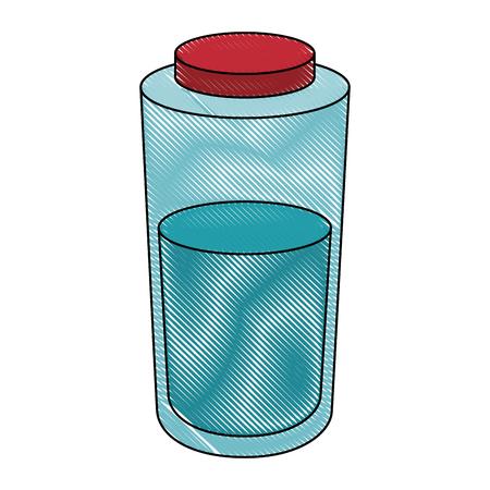 Liquid container packaging icon vector illustration graphic design