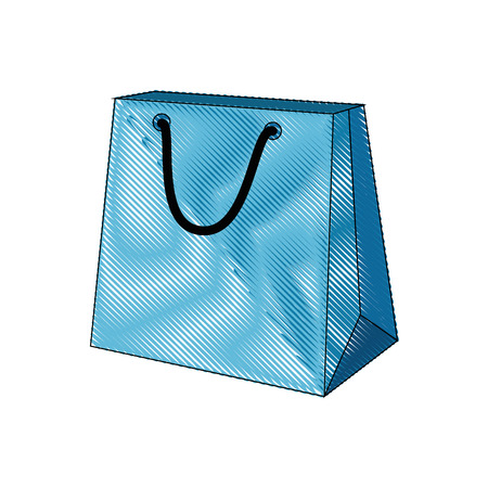 Shopping bag isolated icon vector illustration graphic design Stock Vector - 81623073