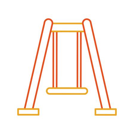 Ikonenschwinger lokalisiertes Ikonenvektor-Illustrationsdesign Standard-Bild - 81623138