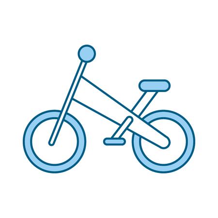 自転車分離山アイコン ベクトル イラスト デザイン