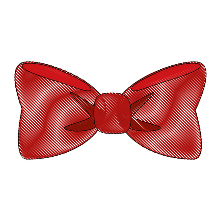 Bow tie isolated icon vector illustration graphic design.