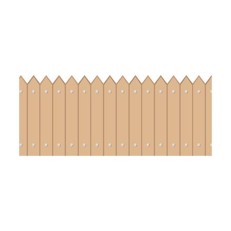 Icône de clôture en bois jardin design vector illustration Banque d'images - 81632641