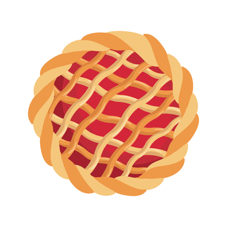 Deliciou pie dessert icon vector illustration graphic design