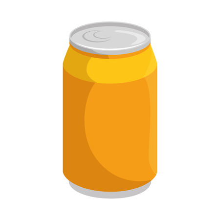 Soda can isolated icon vector illustration graphic design Ilustracja