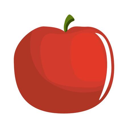 トマト新鮮な野菜アイコン ベクトル イラスト グラフィック デザイン  イラスト・ベクター素材
