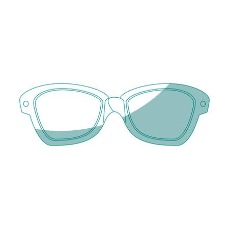 uv: isolated Sunglasses cartoon icon vector illustration graphic design