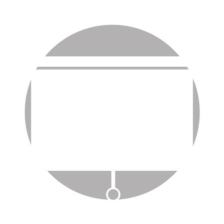 ウィンドウ ブラインド分離アイコン ベクトル イラスト デザイン