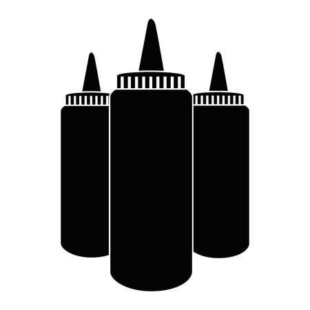 醤油ペットボトル アイコン ベクトル イラスト グラフィック デザイン