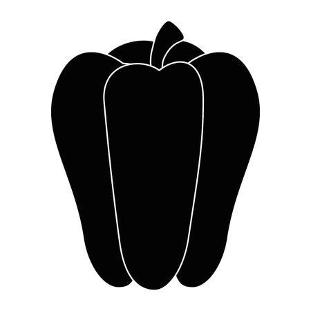 Fresh pepper vegetable icon vector illustration graphic design Ilustrace