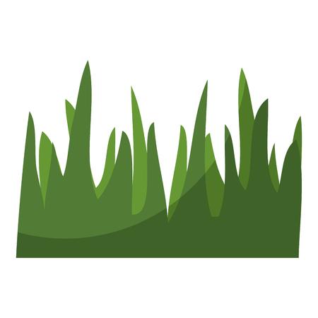 background grass symbol icon vector illustration graphic design