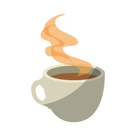 Becher Kaffee Symbol Symbol Vektor Illustration Grafikdesign