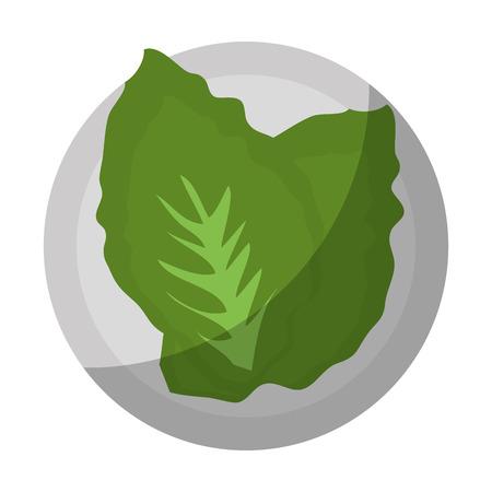 샐러드 야채 음식 아이콘 벡터 일러스트 그래픽 디자인 스톡 콘텐츠 - 81621097