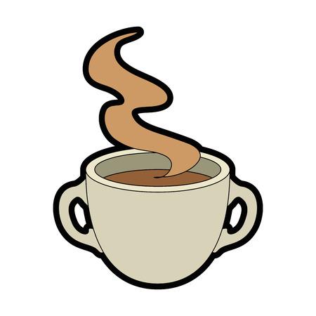 Mug coffee symbol icon vector illustration graphic design Illustration