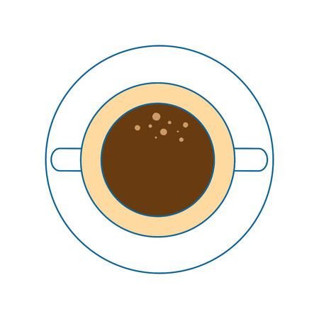 mug coffee symbol icon vector illustration graphic design