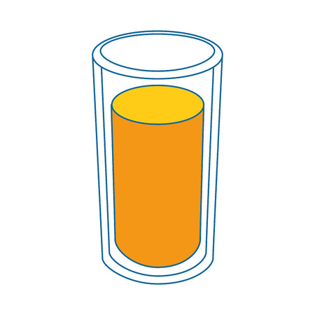 Refreshing fruit juice icon vector illustration graphic design