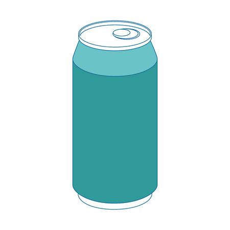 Can coke drink icon vector illustration graphic design Illustration