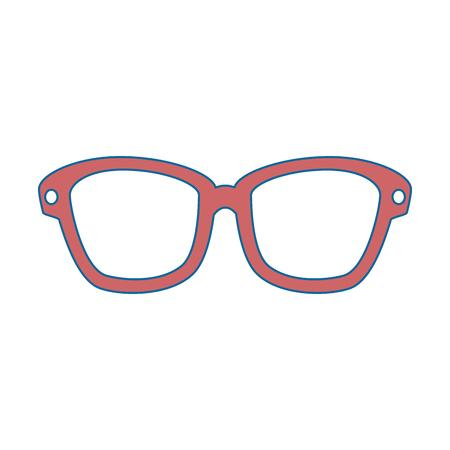 isolated Sunglasses cartoon icon vector illustration graphic design