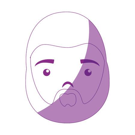 Saint joseph cartoon icon vector illustration graphic design