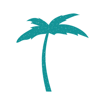 tree palm beach icon vector illustration design Illustration