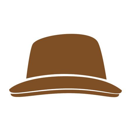 ヴィンテージの帽子ファッション アイコン ベクトル イラスト グラフィック デザイン  イラスト・ベクター素材