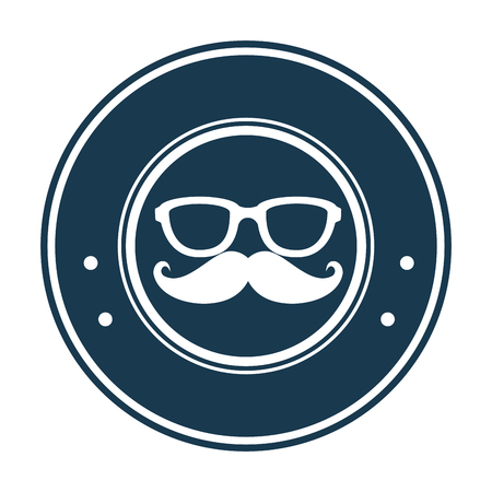 Hipster label banner symbol icon vector illustration graphic design