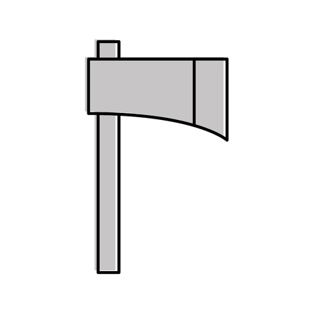 Woodcutter ax isolated icon vector illustration design 版權商用圖片 - 81642975