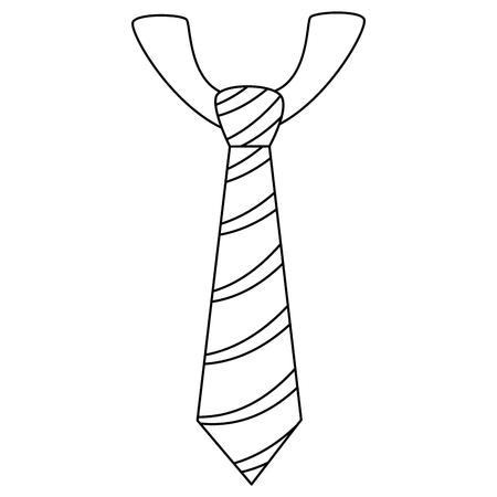 이그 제 큐 티브 넥타이 패션 아이콘 벡터 일러스트 그래픽 디자인 일러스트