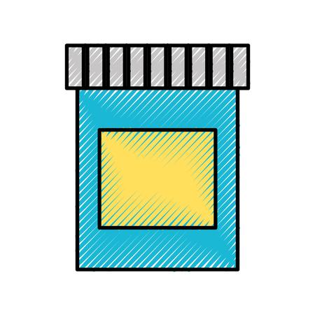 Vloeibare verf lak pictogram vector illustratie ontwerp grafisch