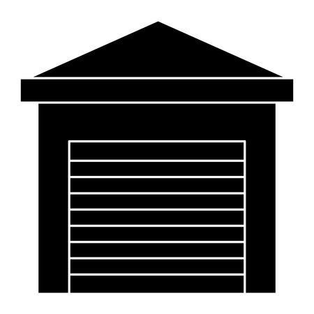 Lagergebäude isoliert Symbol Vektor-Illustration, Design, Standard-Bild - 81657965