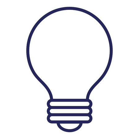 Bulb light isolated icon vector illustration design Stok Fotoğraf - 81664099