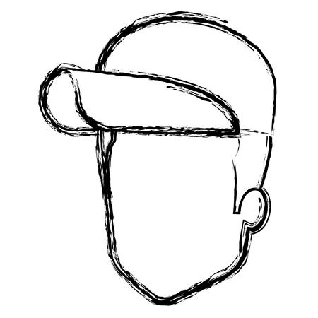 Diseño de ilustración de vector de personaje de avatar de trabajador de entrega Foto de archivo - 81663055