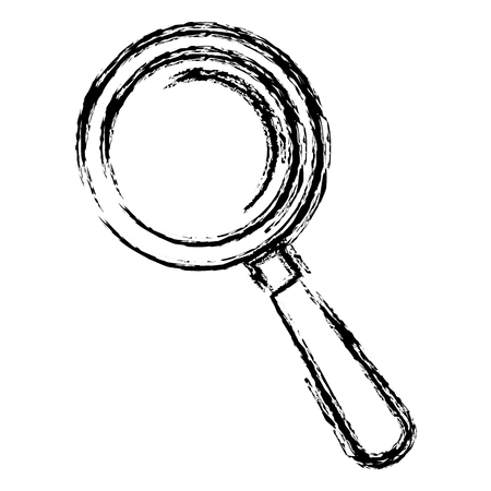 Search magnifying glass icon vector illustration design Stok Fotoğraf - 81663371