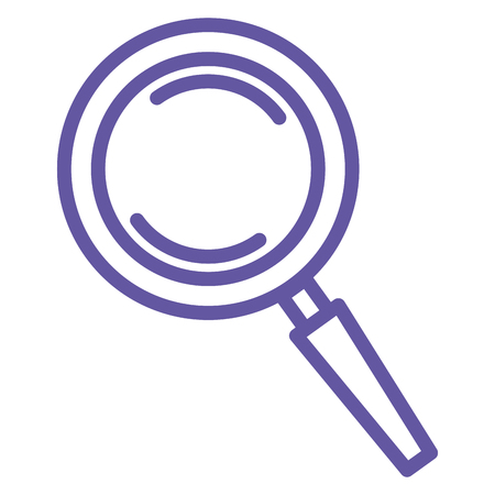 Search magnifying glass icon vector illustration design Stok Fotoğraf - 81663385