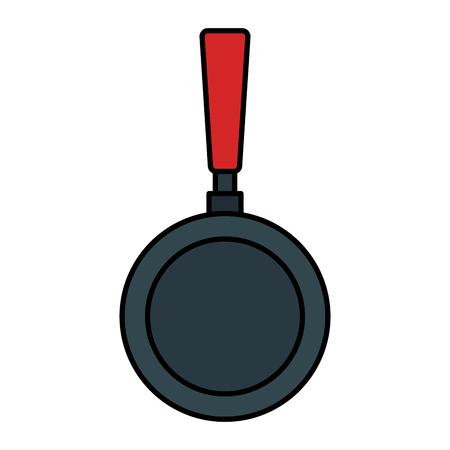 pan kitchen cook icon pictogram vector illustration design