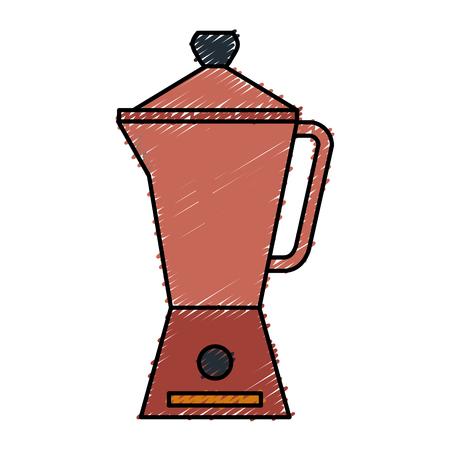 kitchen kettle isolated icon vector illustration design Illusztráció