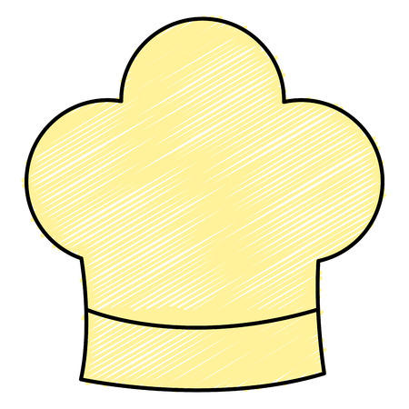 chef hat isolated icon vector illustration design Illustration