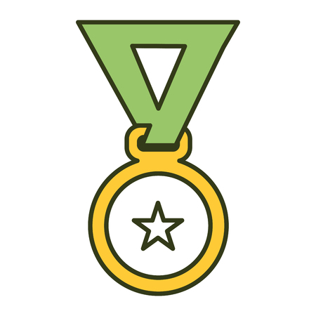 medal award isolated icon vector illustration design Stock fotó - 81669406