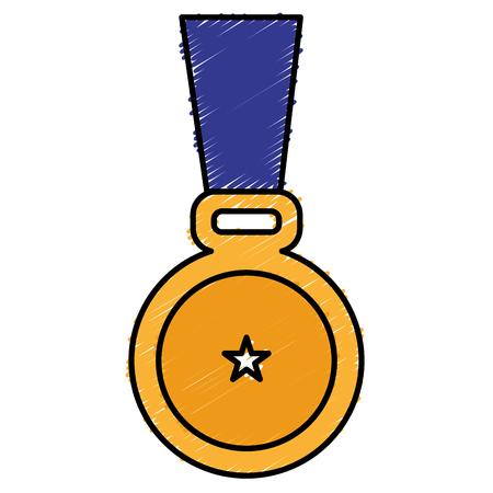 medal award isolated icon vector illustration design Stock fotó - 81670637