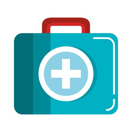medical kit isolated icon vector illustration design Zdjęcie Seryjne - 81670642