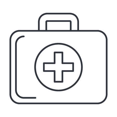 医療キット分離アイコン ベクトル イラスト デザイン  イラスト・ベクター素材