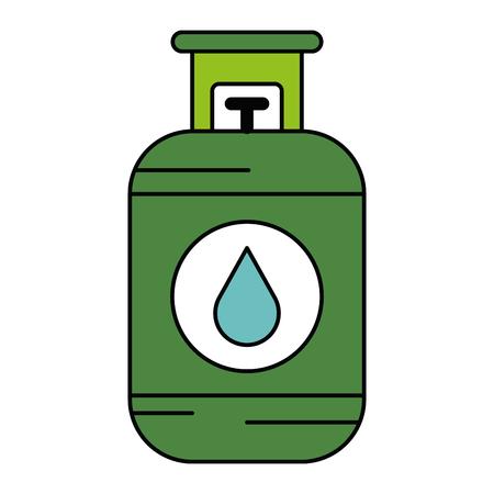 Propane gaz tank icon vector illustration design Banque d'images - 81671722