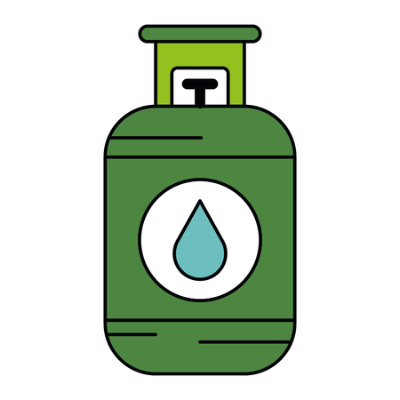 Propane gas tank icon vector illustration design