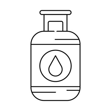 Propane gas tank icon vector illustration design Фото со стока - 81672643